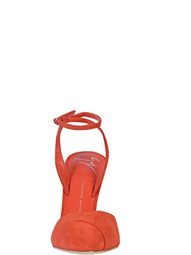 GIUSEPPE ZANOTTI DESIGN FEMME E6501264684 ROUGE CUIR SANDALES