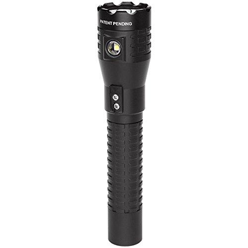 Nightstick NSR-9844XL Tactical Rechargeable Dual-Light Flashlight, Black
