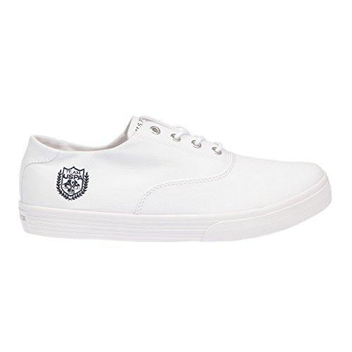 U.S. POLO Zapatos del hombre - estilo de la zapatilla de deporte. GALAN4182S7-CY1 blanco