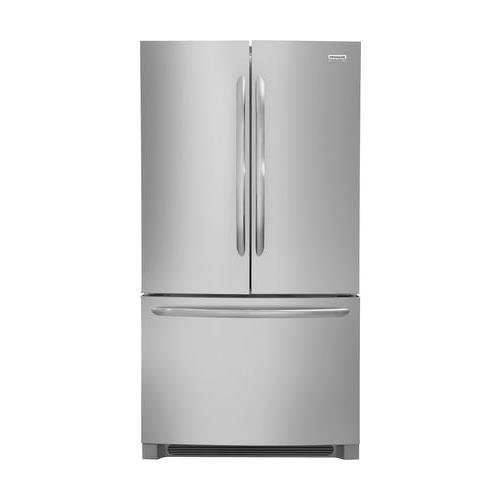 Frigidaire FGHG2368TF Gallery Series 36 Inch Freestanding Counter Depth Side by Side Refrigerator with 22.4 cu. ft. Capacity, in Stainless Steel ()