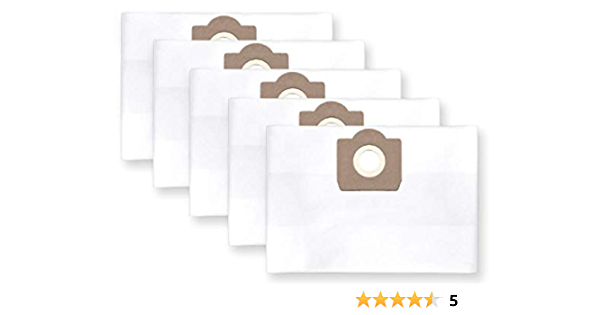 5x bolsas para aspirador tejido Makita VC 2010 L: Amazon.es: Hogar