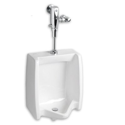 American Standard 6590.510.020 Washbrook Top Spud Urinal with 0.5 Gpf Exposed AC Selectronic Flush Valve