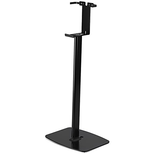 Flexson Floorstand for Sonos Play:5 Gen 2 in Black (Vertical, Single) by Flexson