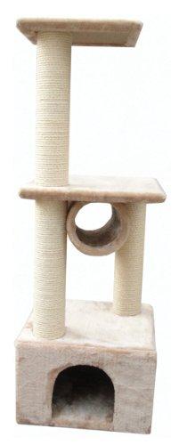 EliteField Cat Tree EFCT-3043, 15″L x 15″W x 43″H, My Pet Supplies