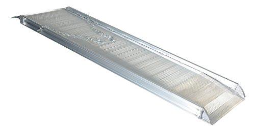 Vestil AWR-28-8A Aluminum Walk Ramp Overlap Style, 2500 lb., 96'' Length, 28'' Width, 4.75'' Height by Vestil