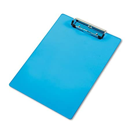 Saunders Products   Saunders   Acrylic Clipboard, 1/2 Capacity, Holds 8