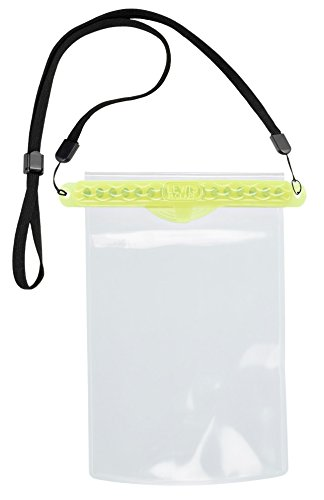 Lewis N. Clark Waterseals Magnetic Self-Sealing Waterproof Pouch, Phone, Yellow