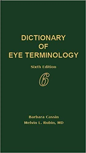 dictionary eye terminology