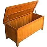 International Caravan TT-CB-001-IC Furniture Piece Royal Tahiti Patio Storage Trunk wLid