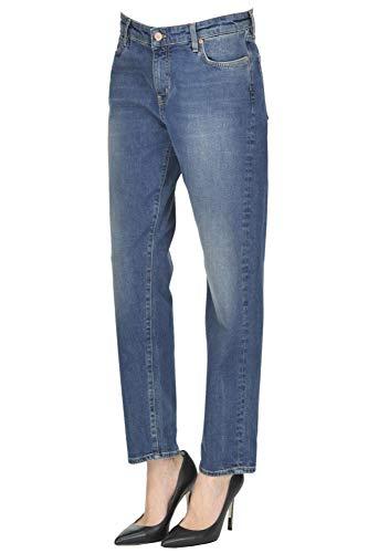 JEANS MCGLDNM04038I MIH Cotone Blu Donna Jeans 0ddq1