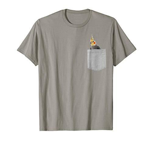 Animal in Your Pocket Cockatiel Bird t-shirt shirt