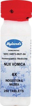 (Hylands - Nux Vomica 6X 250 tab)