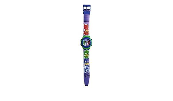 PJ Masks - Reloj infantil con Sacha, Amaya y Greg: Amazon.es ...