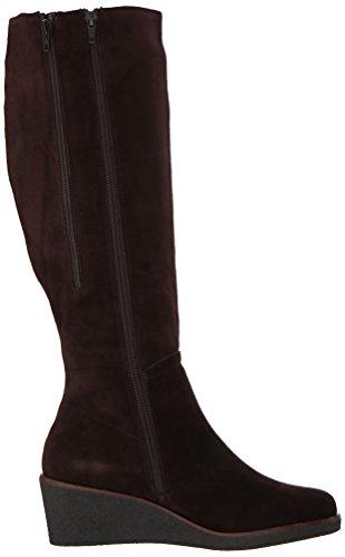 Aerosoles Women's Binocular Knee High Boot Dark Brown Suede OBJhJY