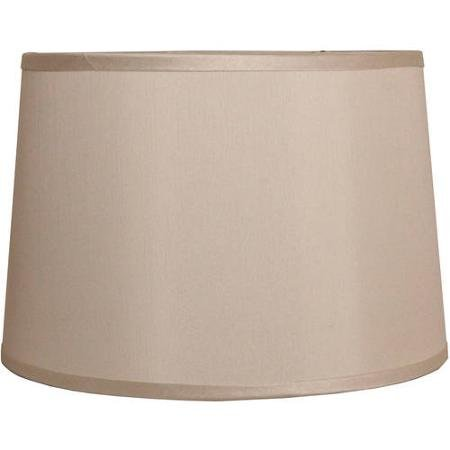 Great for Any Decor, Classic Drum Lamp Shade, - Ivory Shade Classic