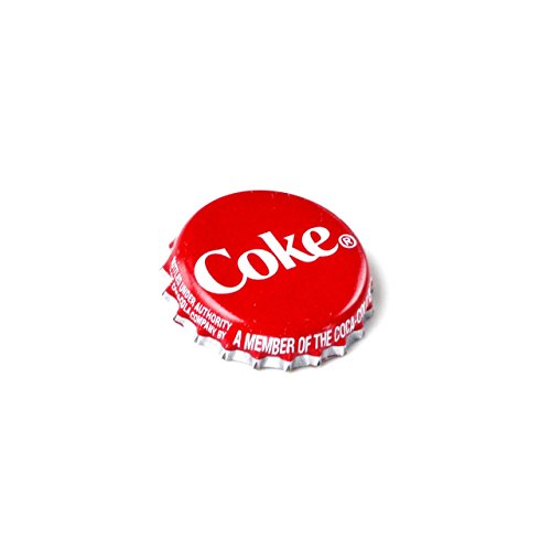 Coke Bottle Cap Lapel Pin by Quality Handcrafts Guaranteed (Image #1)