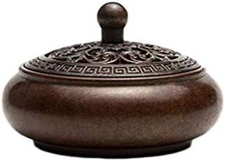 芳香器・アロマバーナー 純粋な銅板香バーナー銅アンティーククサンデ銅炉小さな香バーナー白檀炉 芳香器・アロマバーナー (Color : Naturals)