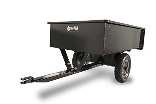Atv Trailer Design - Agri-Fab 45-0101 750-Pound Max Utility Tow Behind Dump Cart, Black