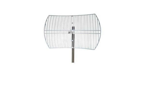 Cablematic - Antena parabólica de 5.5 GHz y 30 dBi: Amazon.es ...