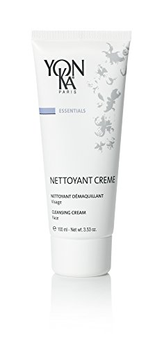 Essential Cleansing Emulsion - YON-KA ESSENTIALS Nettoyant Creme (3.5 Ounce / 100 Milliliter) - Cleansing Cream for Dry and Sensitive Skin That Gently Removes Your Makeup