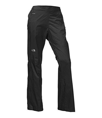 The North Face Women's Venture 2 1/2 Zip Pants, TNF Black - Large Short