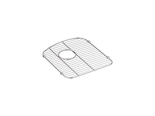 KOHLER 5180-ST Smart Divide Stainless Steel Sink rack, 13-1/2 x 15-1/4-Inch,