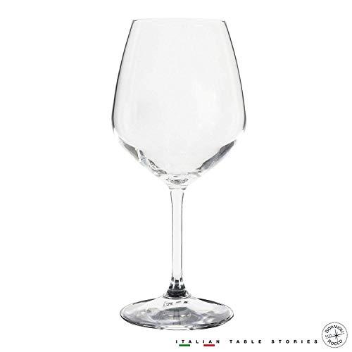 Bormioli Rocco Vino Regale Wine Glass Pack of 8 in 1 Box, 1 count