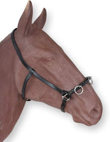 Premium Leather Crank Cavesson Soft Padded Leather Bridle