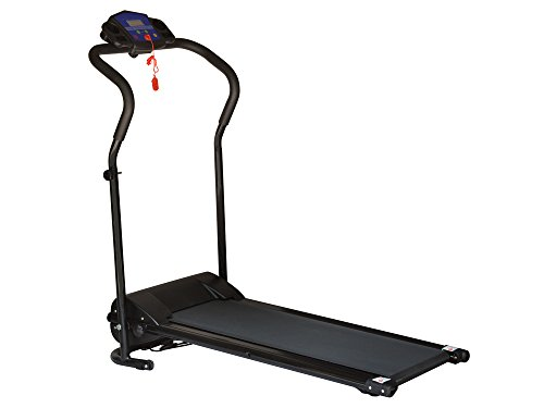 TMS 600w Folding Electric Treadmill Portable Motorized Running Machine (48' Roll Display)