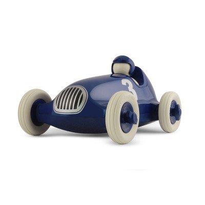 PlayForever Collectible Metallic Blue Bruno Roadster Racing Car