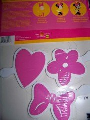 Disney Minnie Mouse Stencil and Stamp Set - Bow, Flower, ...