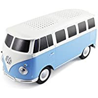 VW Collection by BRISA VW Bus T1 Bluetooth Speaker Blue/White