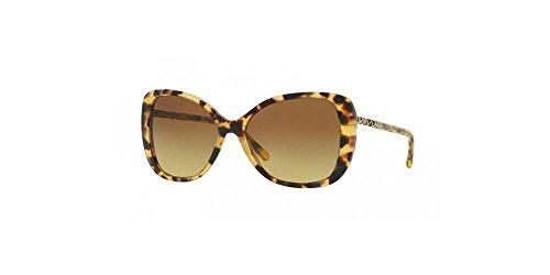 Burberry Women's 0BE4238 Light Havana/Brown Gradient - Burberry Sunglasses Polarized
