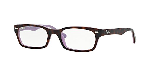 Ray-Ban Women's RX5150 Eyeglasses Top Havana On Opal Violet 48mm by Ray-Ban