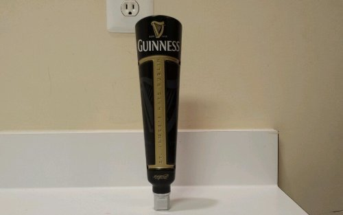 Guinness Professional Grade Tap Handle - New Sleek Design by Guinness Tap