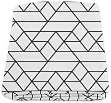 Línea geométrica Rayas Color Liso Personalizado Invierno Ligero Cómodo Piel Fuzzy Súper Suave Sofá y Cama Manta para bebés Tamaño de Mujer 40x50 Pulgadas Lavable a máquina