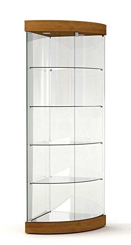 vitrine eck vitrine showcase werkbank glas gesch ft oder haus mit beleuchtung online kaufen. Black Bedroom Furniture Sets. Home Design Ideas