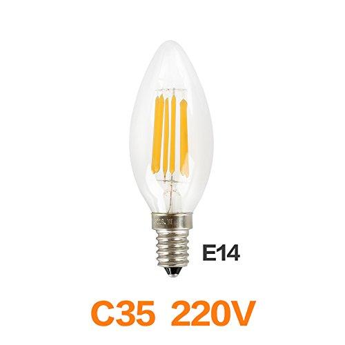 Wall of Dragon Meel Retro LED Bulb E27 E14 LED Lamp 220V 240V LED Filament Light 2W 4W 6W 8W Glass Ball Bombillas LED Edison Bulb Light