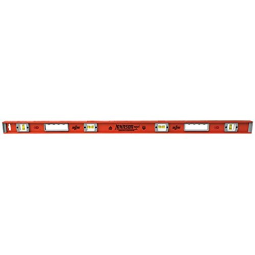 (Johnson Level & Tool 1254-2400 Heavy Duty Magnetic Aluminum Level, 24