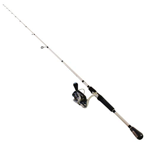 Lews Fishing, Mach Inshore Speed Spin Spinning 1 Piece Combo, 6.2:1 Gear Ratio, 35