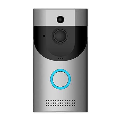 Dalkeyie ❣B30 Wireless WiFi Video Doorbell Camera Night Vision PIR Motion Detection Intercom Door Bell for Home Security❣