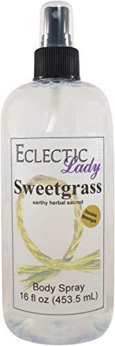 Sweetgrass Body Spray Double Strength , 16 ounces