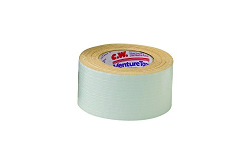 3M Venture Tape Metal Building Facing Tape 1531CW White, 72 mm x 45.7 m (Pack of 16) by Venture Tape