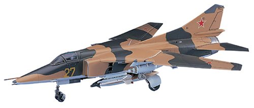 Hasegawa 1/72 Scale Mig 27 Flogger D Russian Jet Fighter