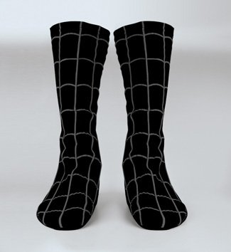 Spiderman Black Boot Cover Adult