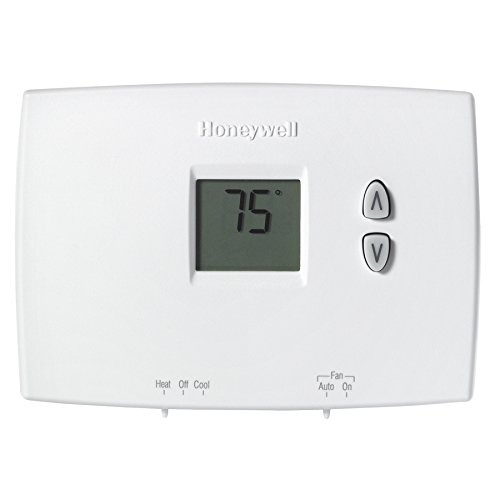 Honeywell Rectangle Electronic Non-Programmable Thermostat RTHL111B1001
