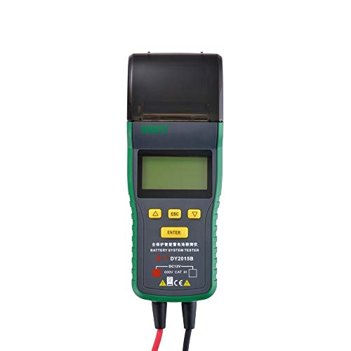 XCSOURCE DY2015B Automotive Battery Tester Battery Analyzer Tool Thermal Printer MA1904 by XCSOURCE (Image #4)