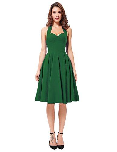 Vintage 50s 60s Green - 9