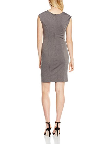 Grau Kleid 50016 Dress India Grey Slim Melange Kaffe Damen Dark xAnXHq4