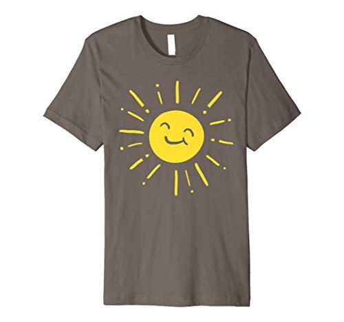 Sunshine Sun Smiling Cute Lovely Summer Love Vacation Gift Premium T-Shirt -